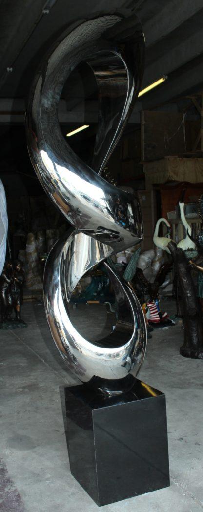 "Modern arts - large statue - CC2 -  Size: 20""L x 20""W x 98""H."