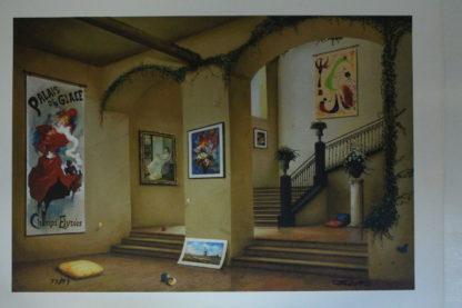 "Orlando Quevedo Giclée - New View Painting -  Size: 21""L x 13.5""W"