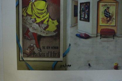 "Orlando Quevedo Giclée - Day of Love III Painting -  Size: 21""L x 13.5""W"