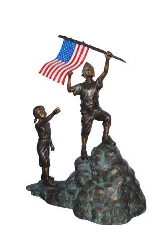 St Serra Bronze Statue Green Patina Size 22 L X 19 W X 62 H Nifao