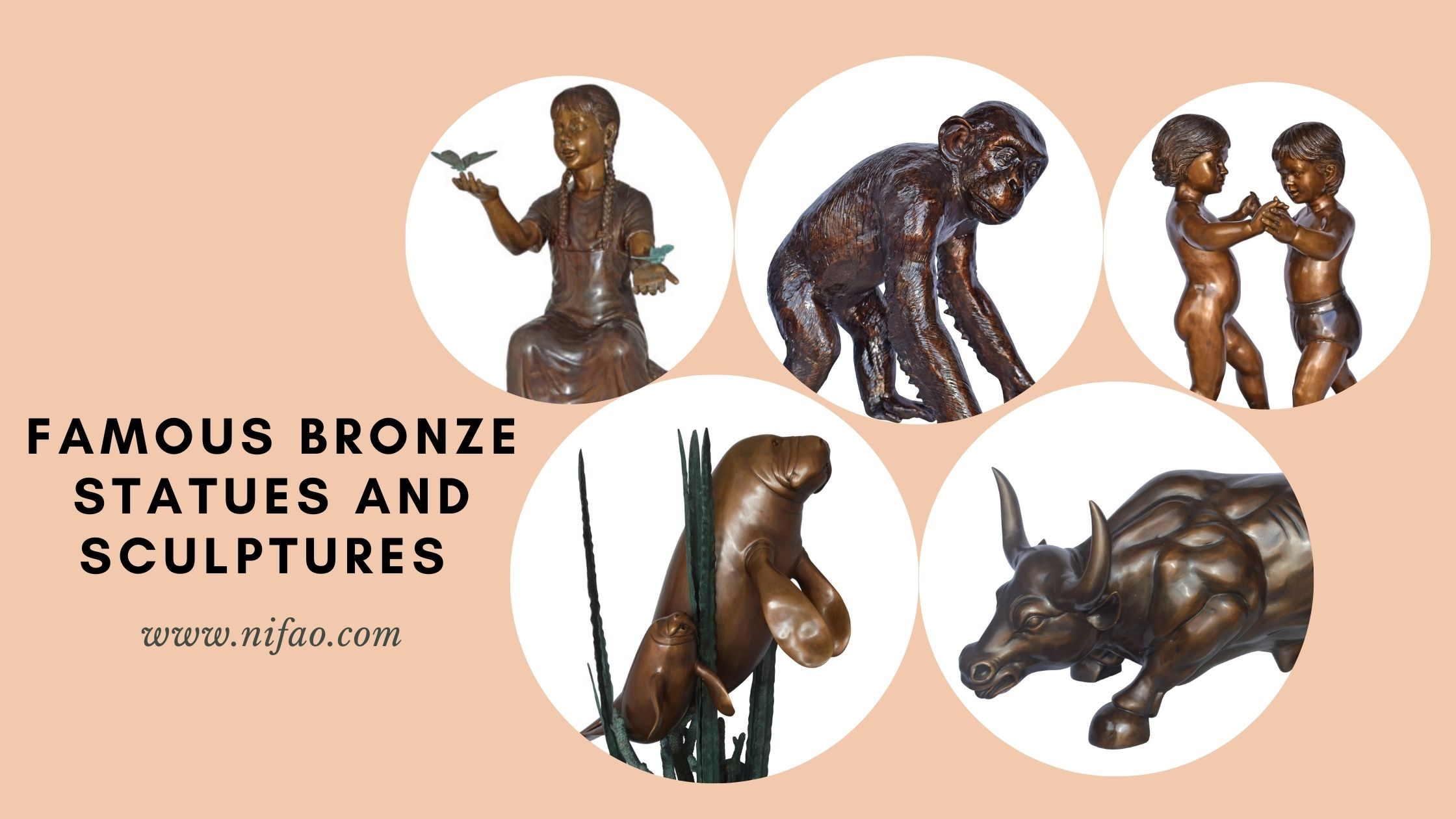 Reproductions of Famous Bronze Statues and Sculptures